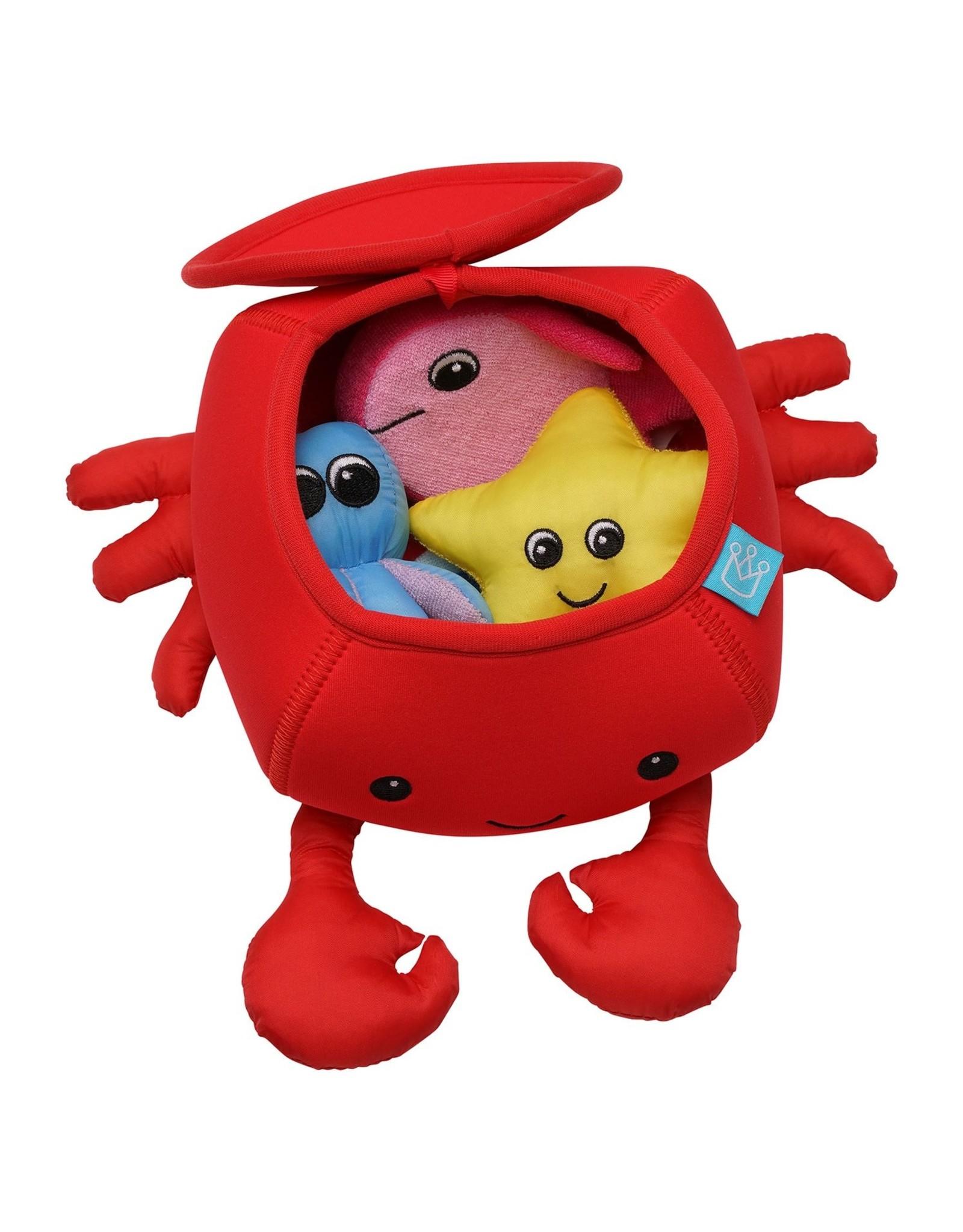 Manhattan Toy Crab Floating Fill N Spill Bath Toy