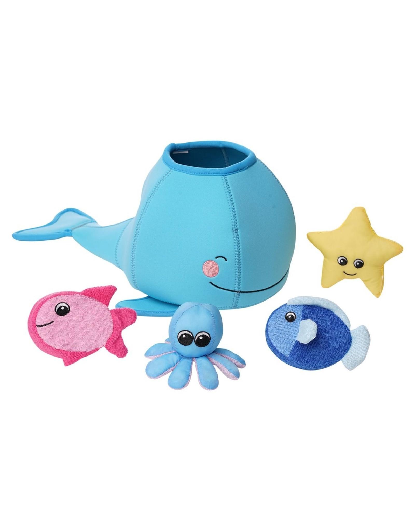 Manhattan Toy Whale Floating Fill N Spill Bath Toy