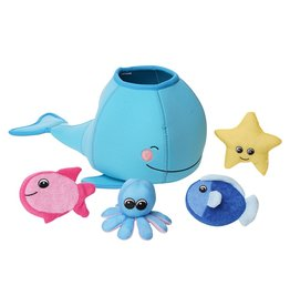Manhattan Toy Whale Floating Fill N Spill Bath Toy