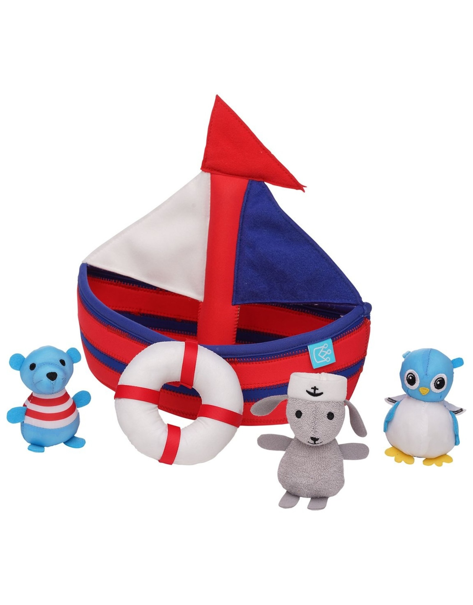 Manhattan Toy Sailboat Floating Fill N Spill Bath Toy