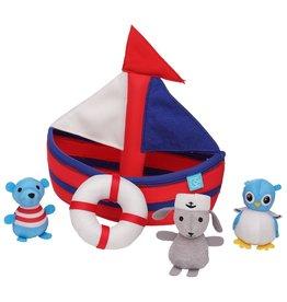 Manhattan Toy Sailboat Floating Fill N Spill Bath Toy