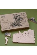 BAJO Black & Natural Jungle Puzzle