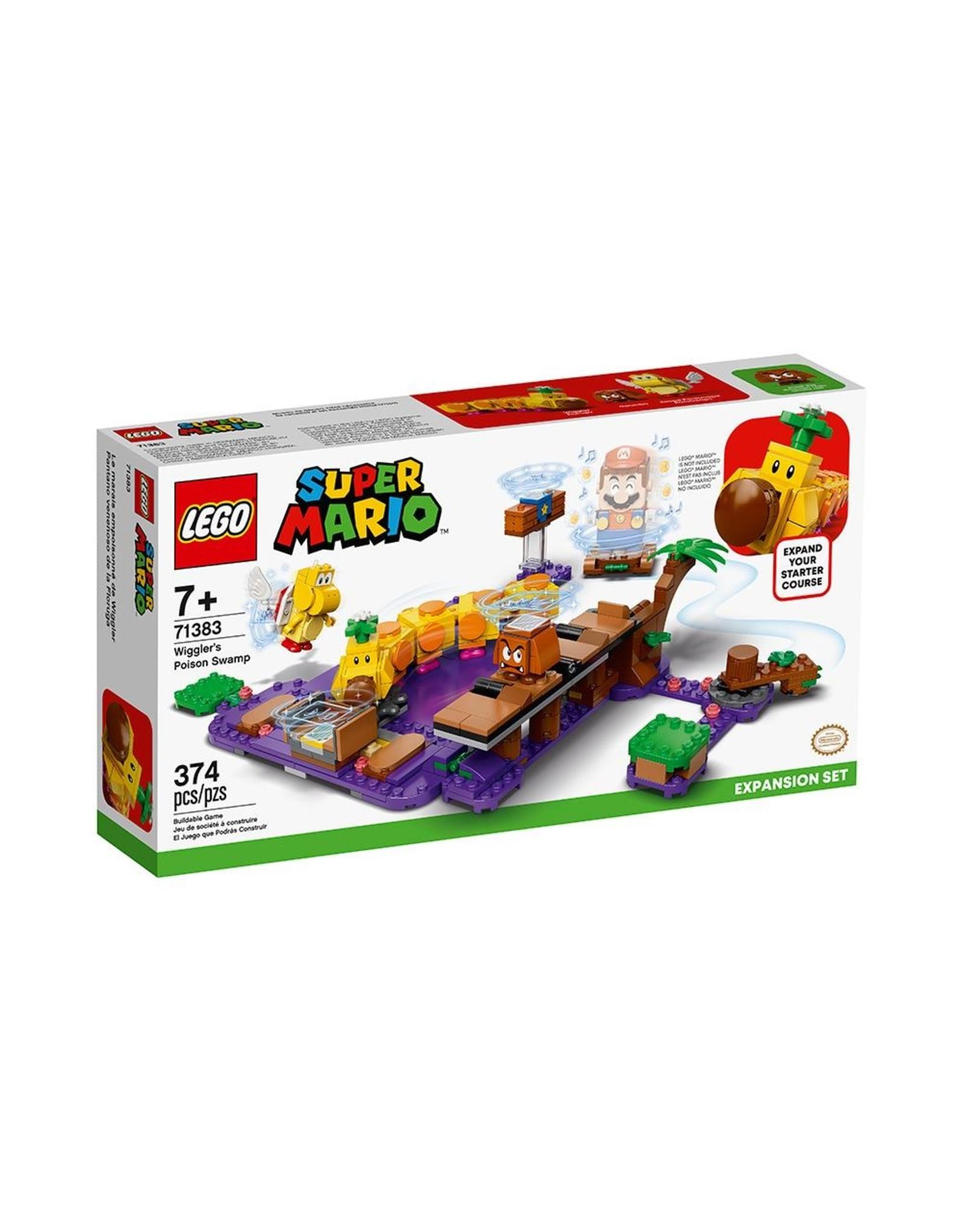 LEGO Super Mario - 71383 - Wiggler's Poison Swamp Expansion Set
