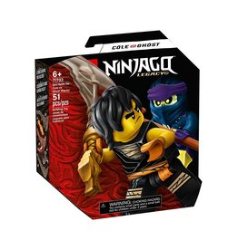 LEGO Ninjago 71733 Epic Battle Set - Cole vs, Ghost