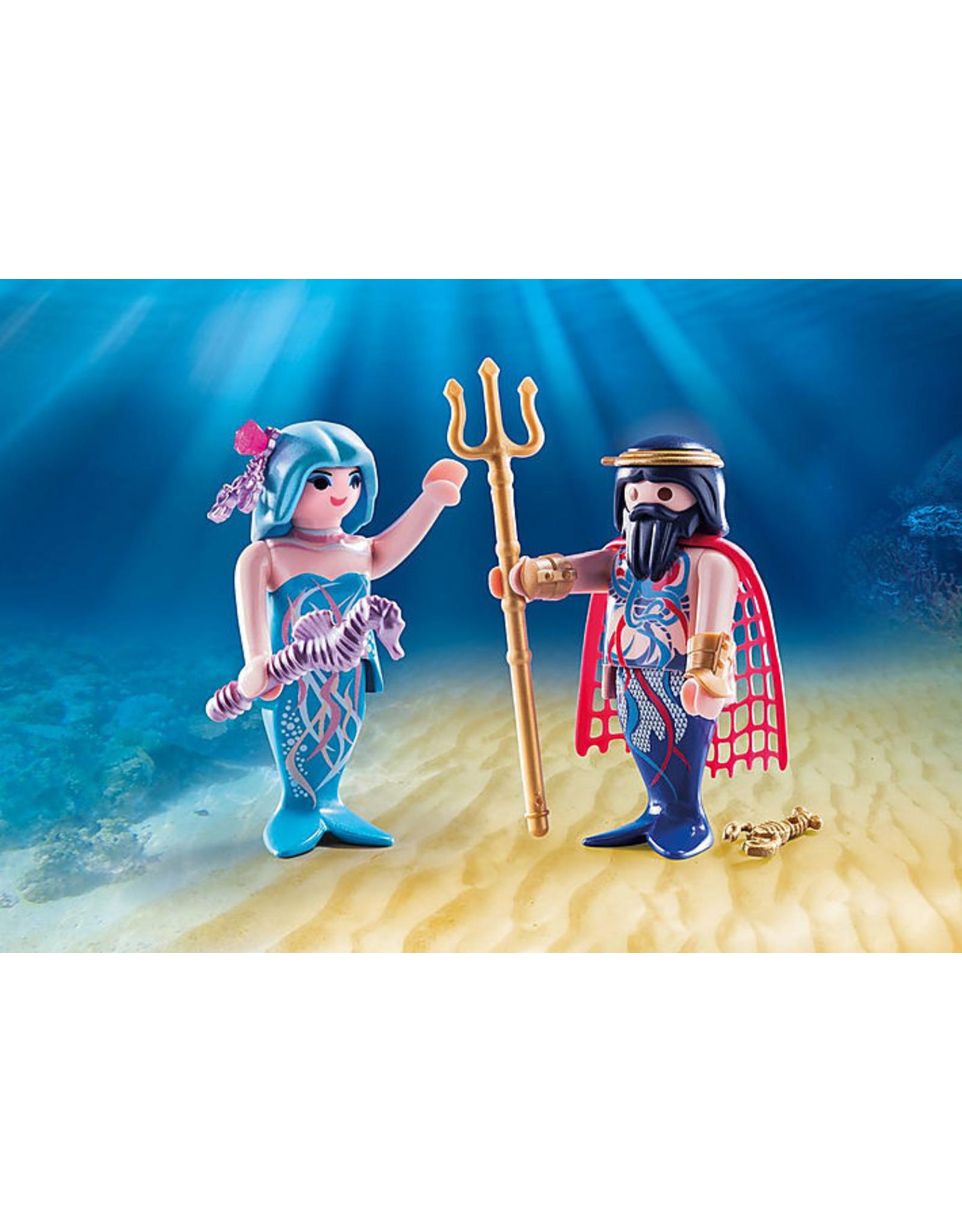 Playmobil Sea King And Mermaid Playmobil 70082  Duo Pack