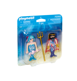 Playmobil Sea King And Mermaid Playmobil 70082  Duo Pack