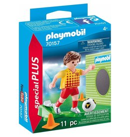 Playmobil Playmobil - SpecialPLUS - 70157 Soccer Player With Goal