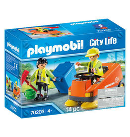 Playmobil Playmobil 70203   City Action   Street Sweeper