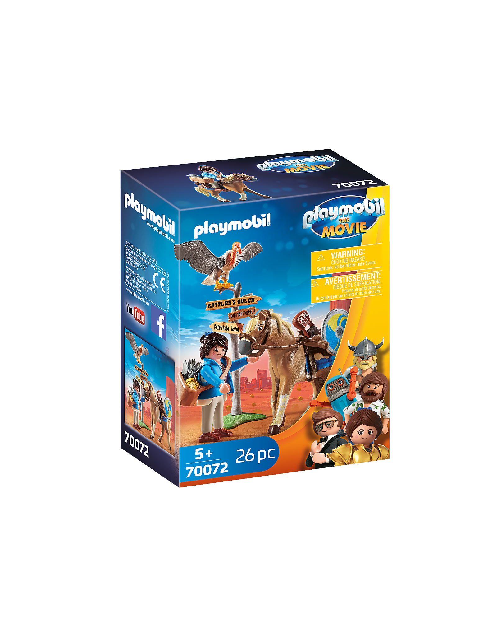 Playmobil Playmobil The Movie Marla With Horse