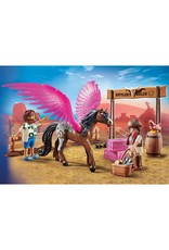Playmobil * Playmobil The Movie Marla And Del With Flying Horse