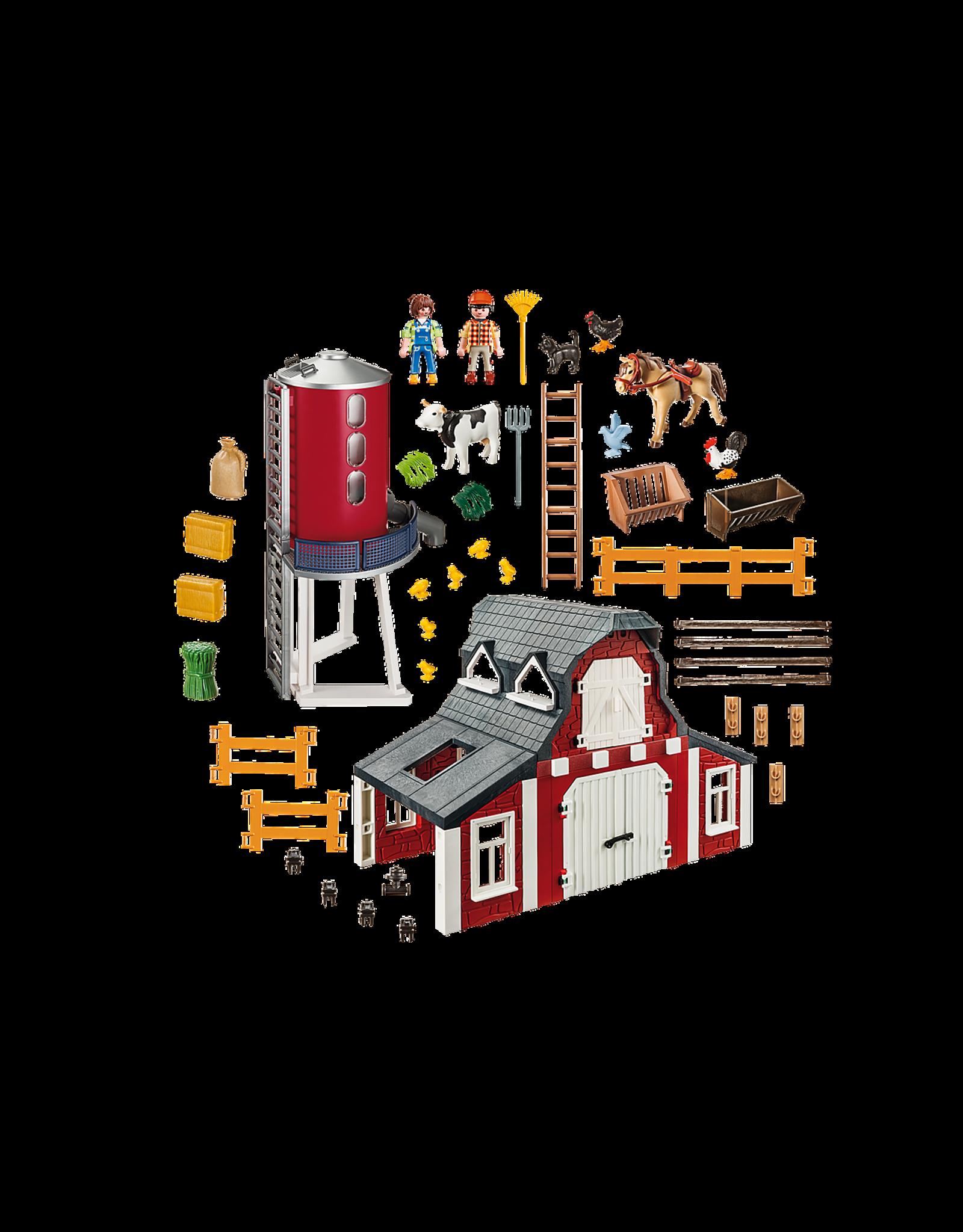 Playmobil Playmobil 9315 - Barn With Silo