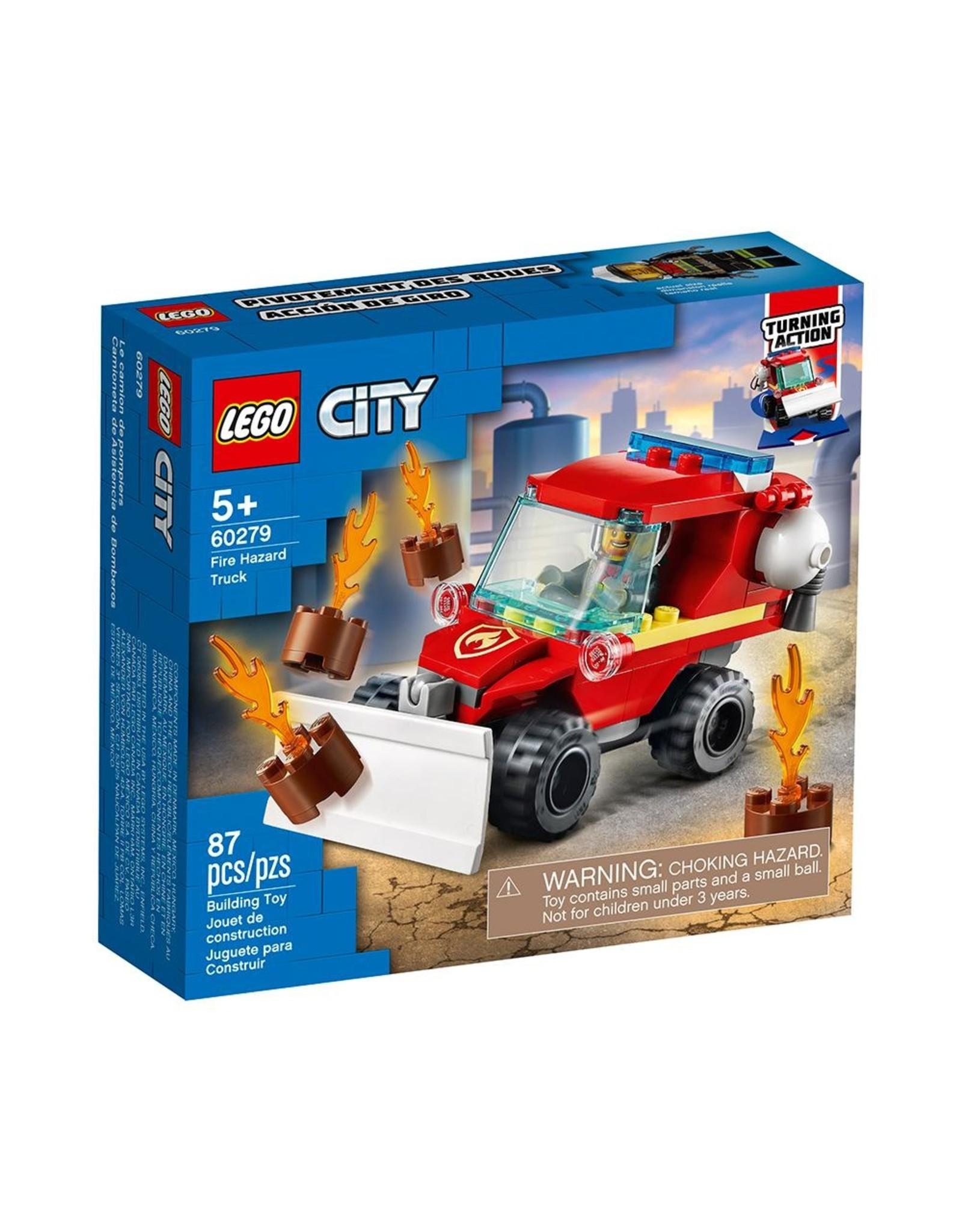 LEGO City Fire 60279 Fire Hazard Truck
