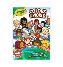 Crayola Colours of the World Colouring Book 48 pg