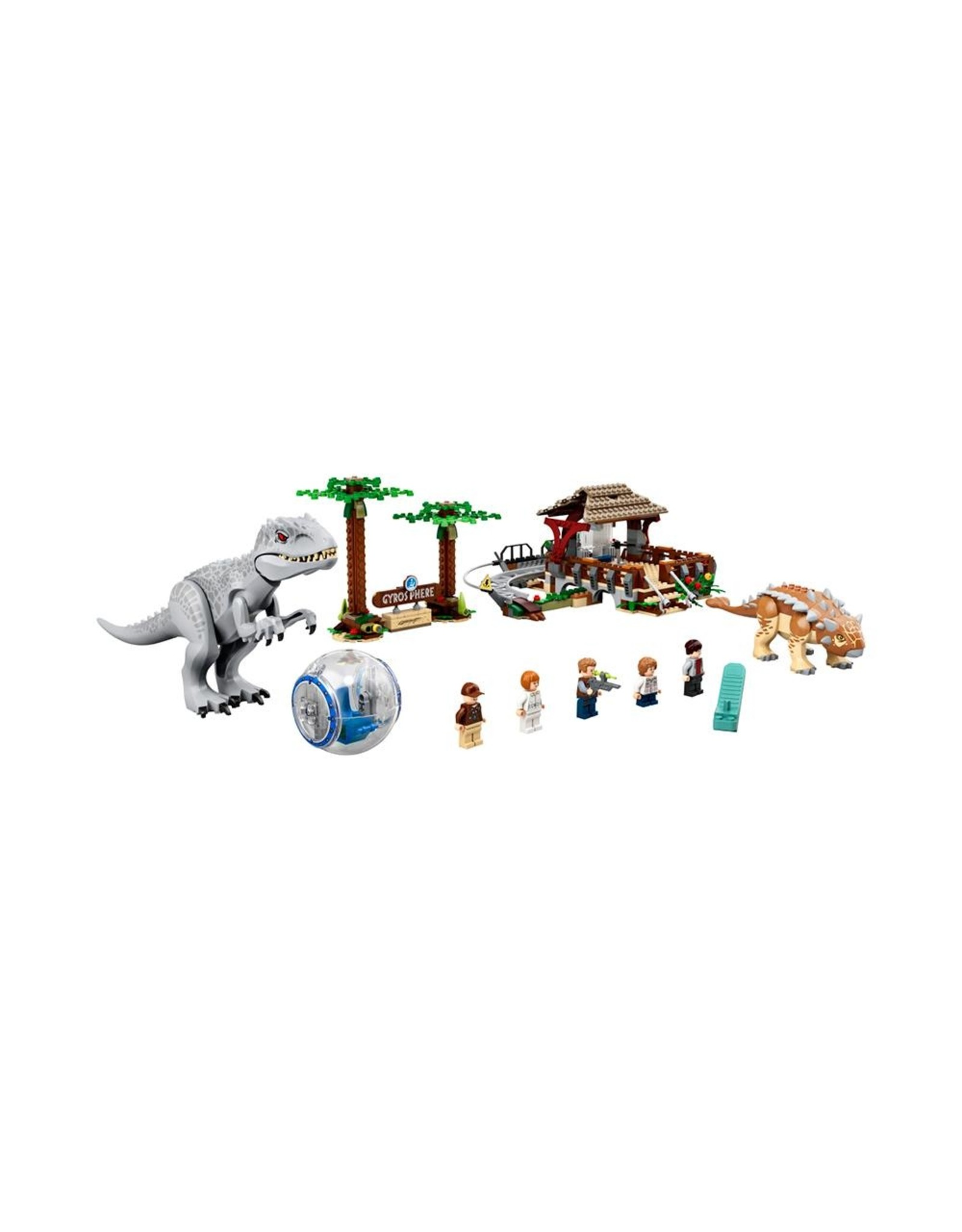 LEGO Jurassic World - 75941 - Indominus Rex Vs. Ankylosaurus