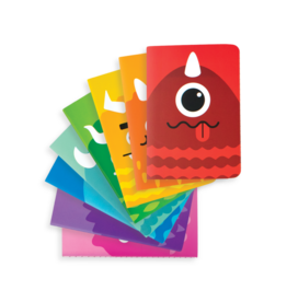Ooly Pocket Pal Mini Journals - Set Of 8 - Monsters
