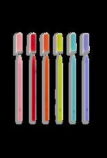 Ooly Fine Line Coloured Gel Pens - Set Of 6
