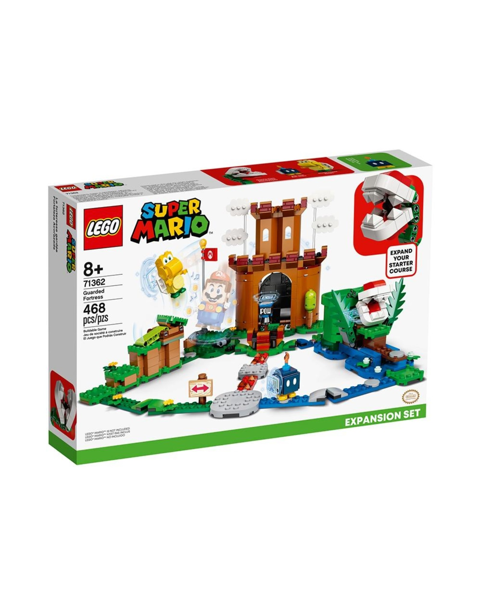 LEGO Super Mario - 71362 - Guarded Fortress Expansion Set