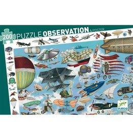 Djeco Aero Club Observation Puzzle 200pcs