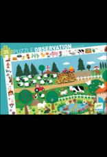 Djeco Farm Observation Puzzle 35 Pcs