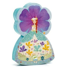 Djeco The Princess of Spring Silhouette Puzzle 36pcs