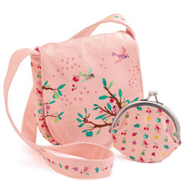 Djeco Summer Garden Embroidered Bag And Coin Purse