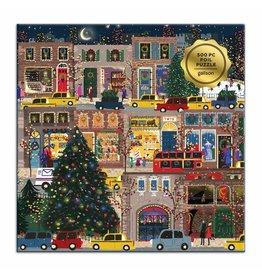 Galison Winter Lights Foil Puzzle 500