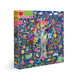 eeBoo Tree Of Life 1000 Pc Sq Puzzle