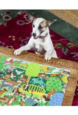 eeBoo Dogs In The Park 1000 Pc Sq Puzzle