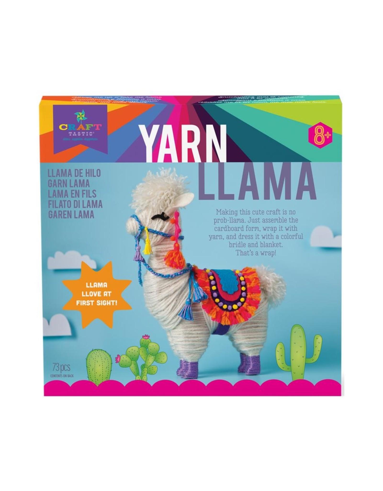 Craft-tastic Craft-tastic Yarn Llama Kit