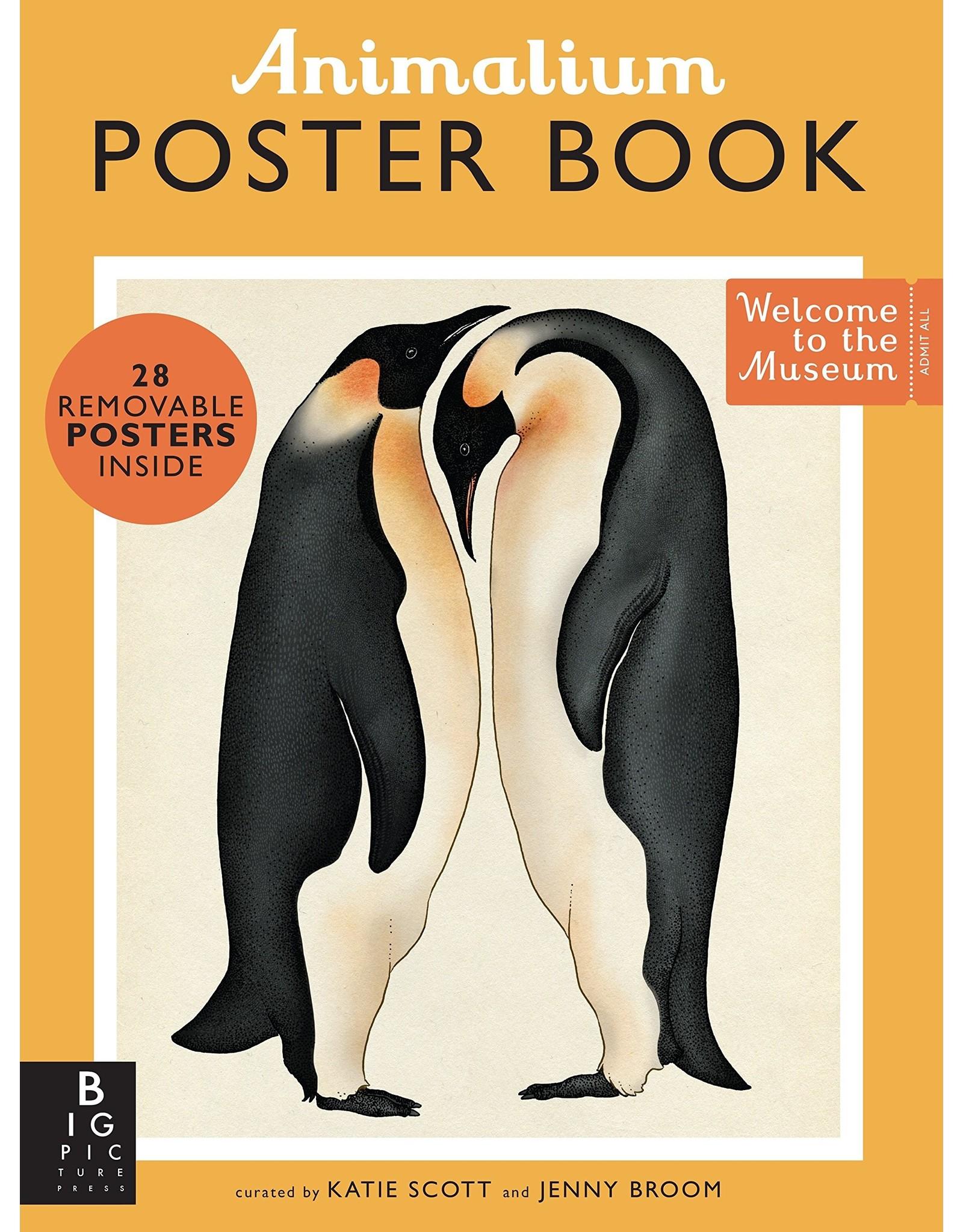Penguin Random House ANIMALIUM POSTER BOOK