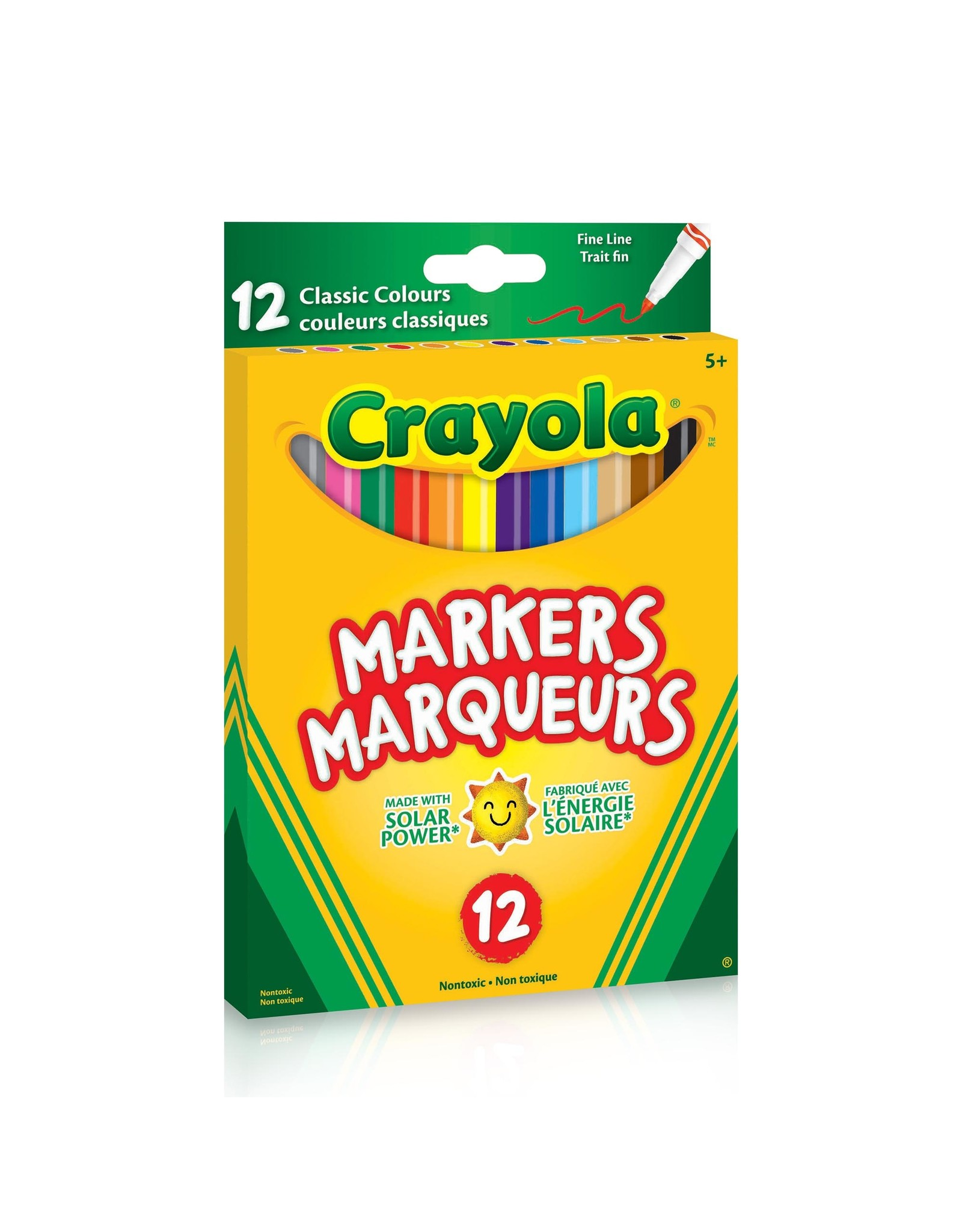 Crayola Fine Line Markers, 12 Count