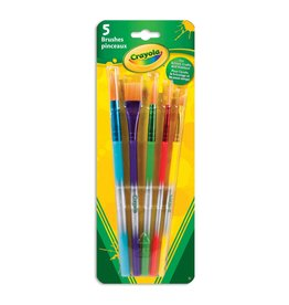 Crayola Variety Brush Set, 5 Count