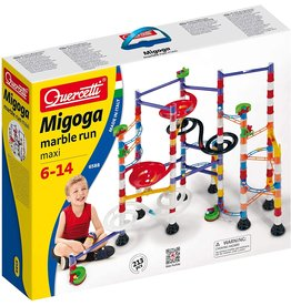 Quercetti Migoga Marble Run Building Set 213-Piece