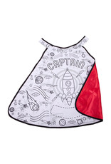 Great Pretenders Colour-A-Cape Rocket Captain, Size 4-7