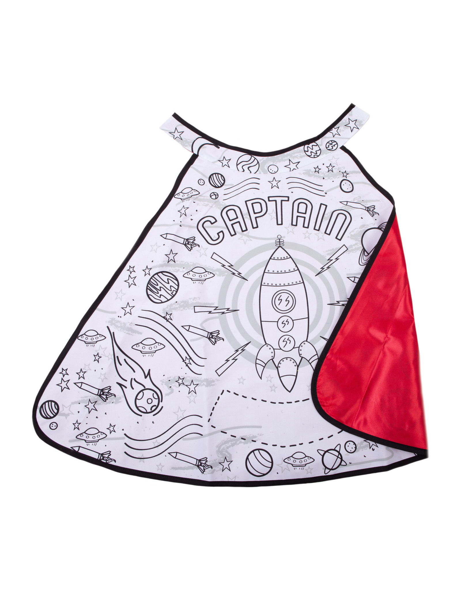 Great Pretenders Colour-A-Cape Rocket Man, Size 4-7