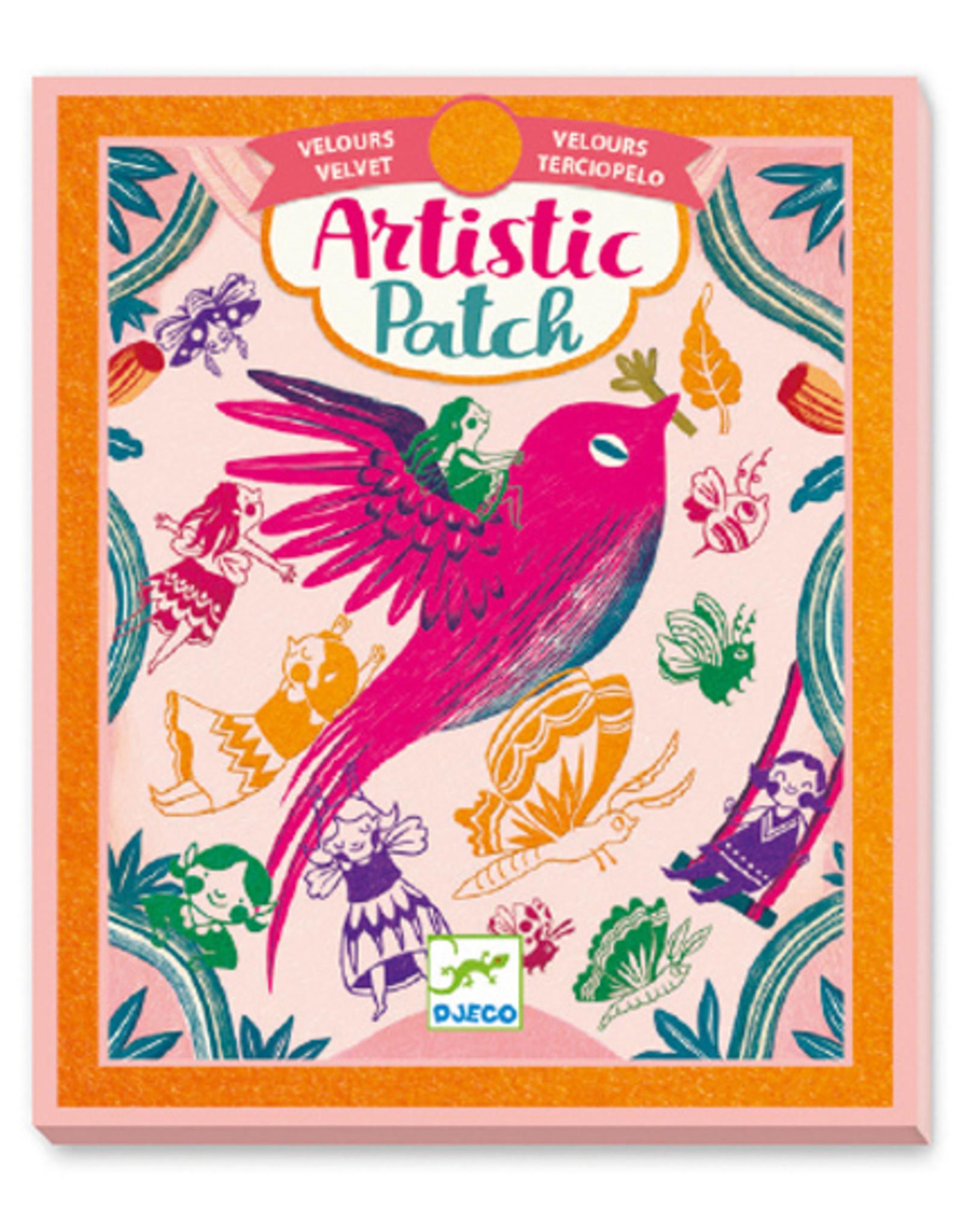 Djeco Artistic Patch Velvet - Recreation