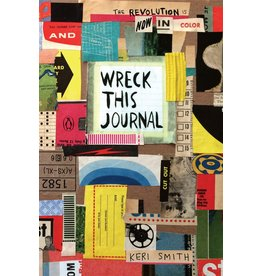 Penguin Random House Wreck This Journal: Now in Color Written By Keri Smith