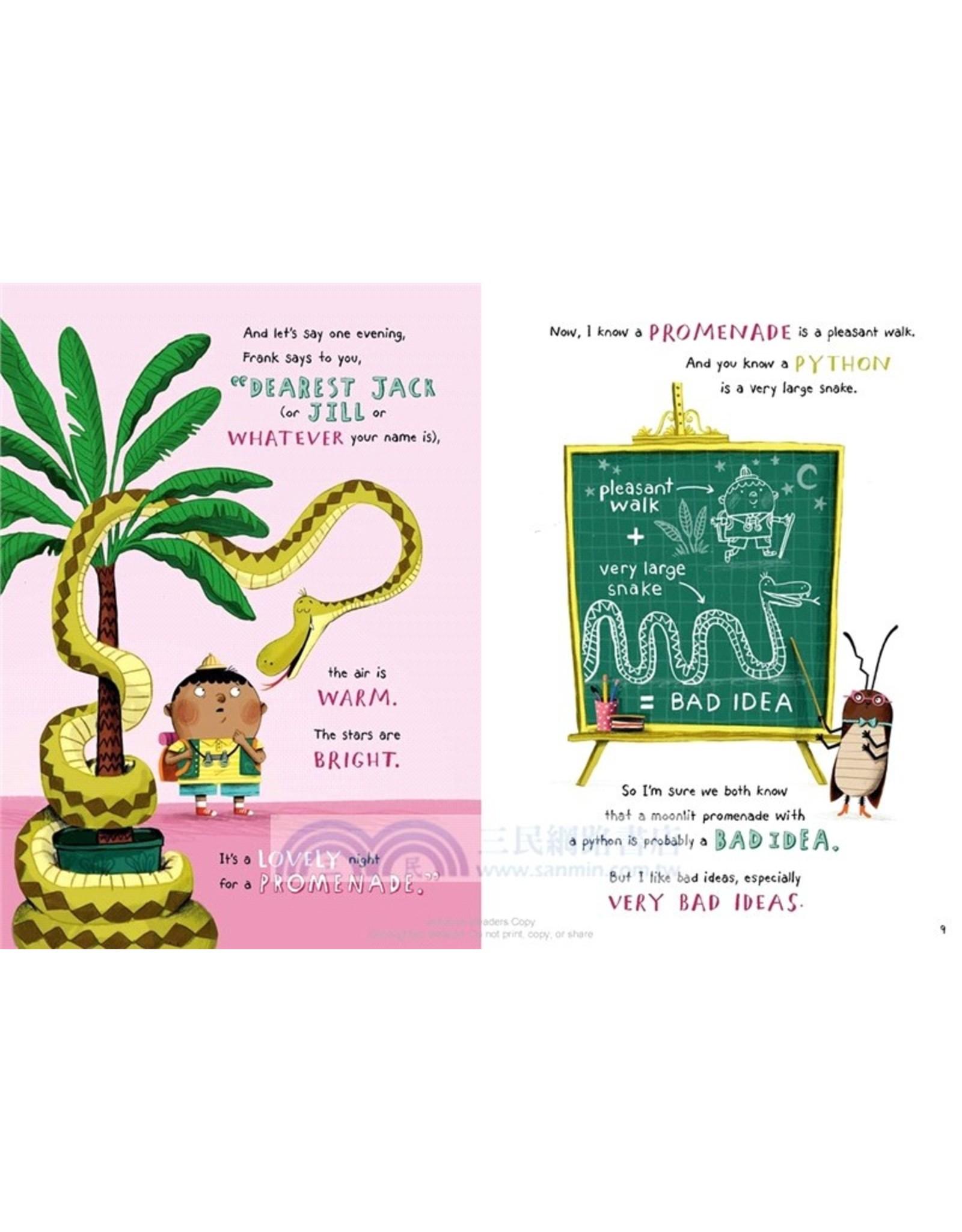 Penguin Random House How to Promenade with a Python (and Not Get Eaten) A Polite Predators Book
