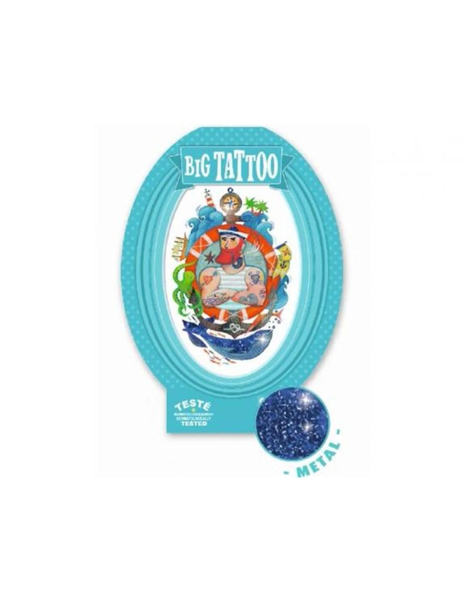 Djeco Sailor Metallic Big Tattoo