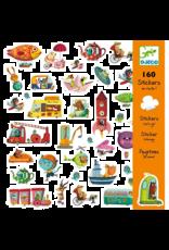 Djeco Let's Go Stickers