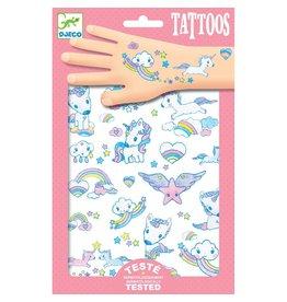 Djeco Unicorn Tattoos By Djeco