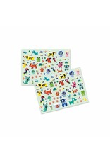 Djeco My Little Friends Puffy Stickers