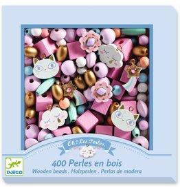 Djeco Rainbow Wooden Beads  By  Djeco