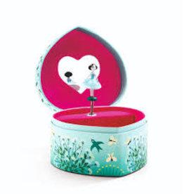 Djeco Budding Dancer Musical Jewellery Box