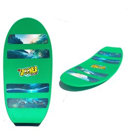 "Spooner Board The Spooner Freestyle 24"" Green"