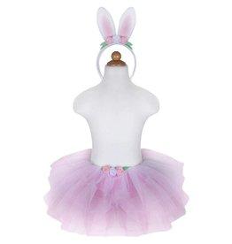 Great Pretenders Bunny Tutu/Headband Pink Size 3-4
