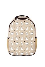SoYoung SOYOUNGBunny Tile Toddler Backpack Raw Linen