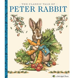 Simon and Schuster The Classic Tale Of Peter Rabbit: A Little Apple Classic By Beatrix Potter