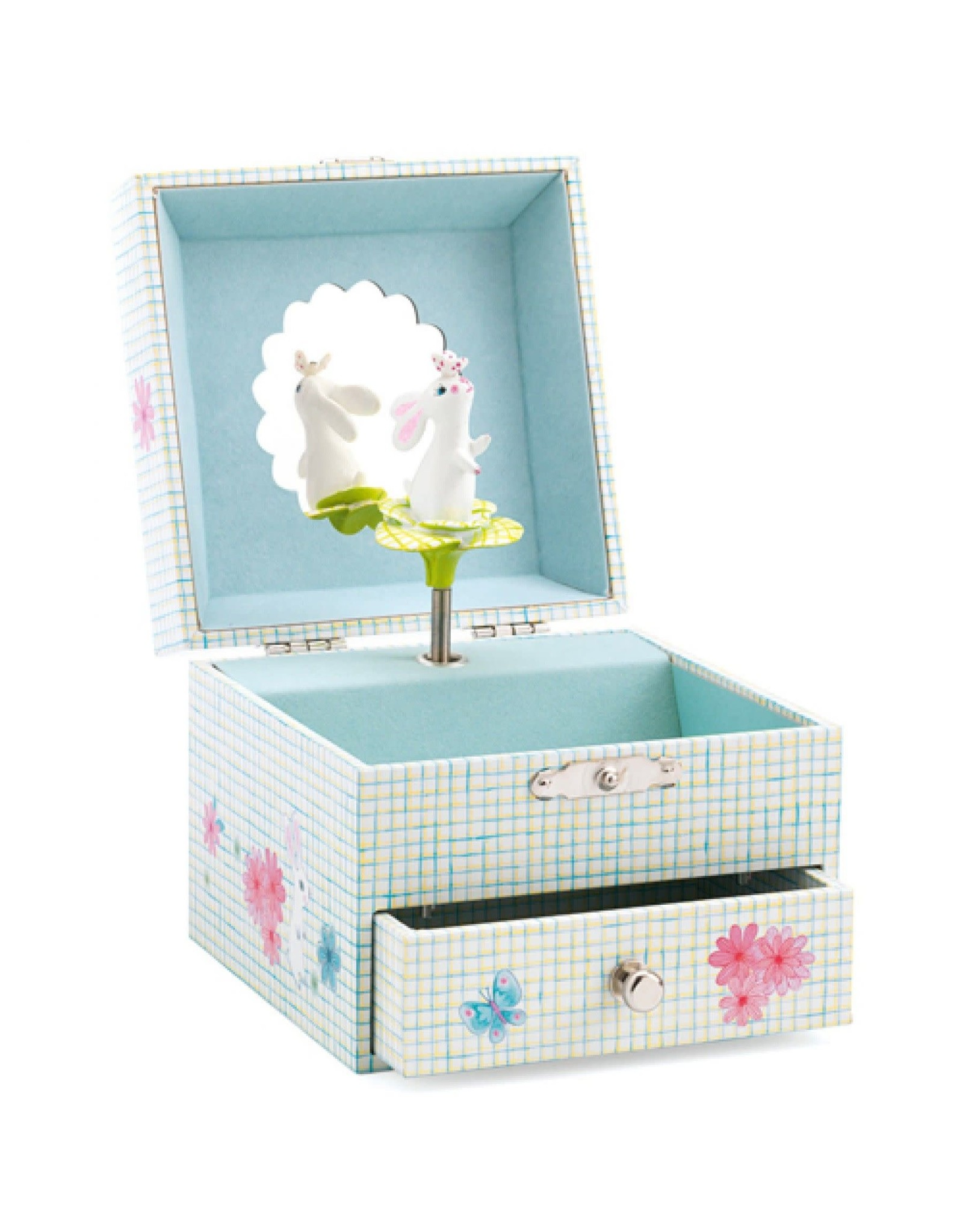 Djeco Sweet Rabbit's Song Musical Jewellery Box