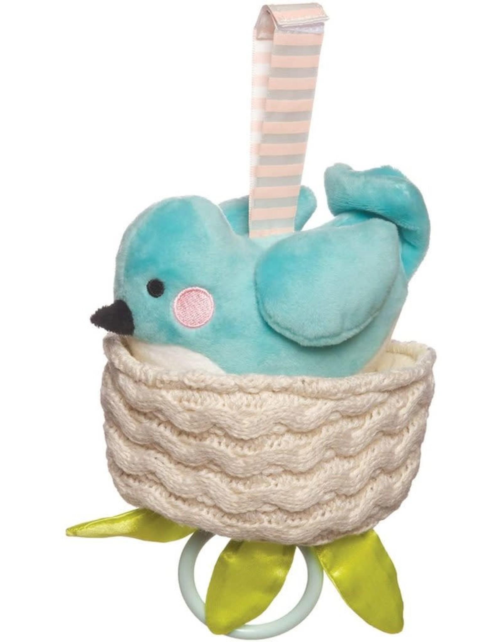 Manhattan Toy Lullaby Bird Pull Musical Toy